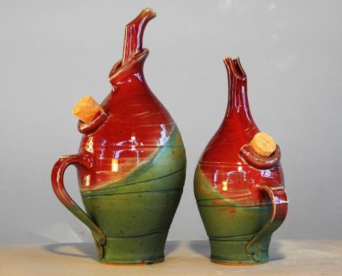 oliera rosso-autunno